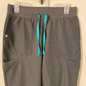 Figs Grey Scrub Pants